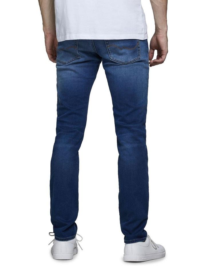 Glenn Indigo Knit Slim Fit Jeans image 2