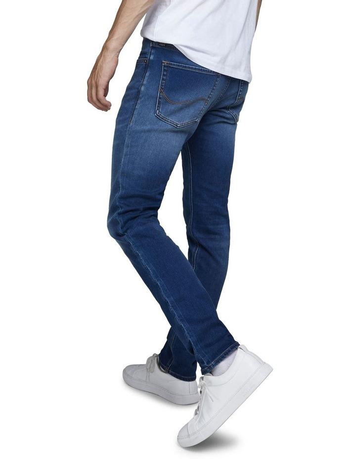 Glenn Indigo Knit Slim Fit Jeans image 4