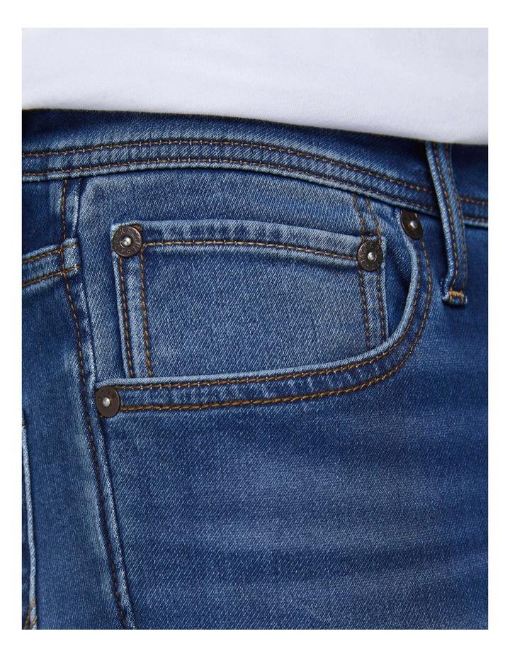 Glenn Indigo Knit Slim Fit Jeans image 6