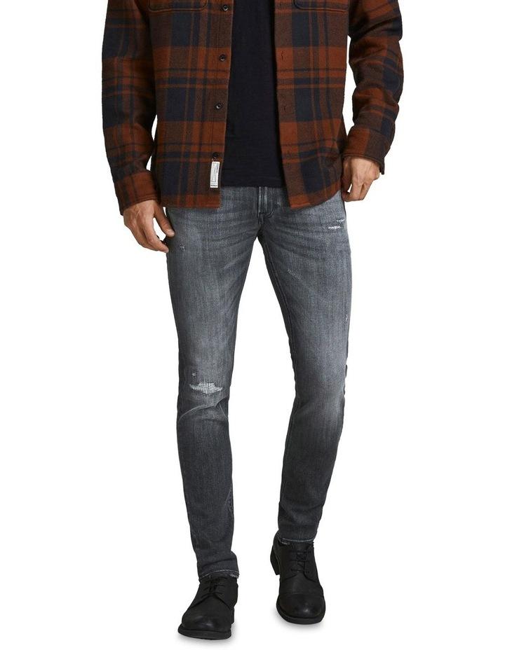 Liam Skinny Fit Jeans Black image 1
