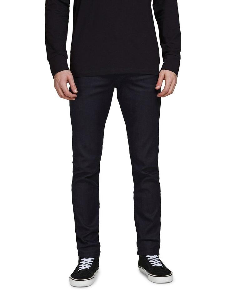Tim Slim Straight  Fit Jeans Black image 1