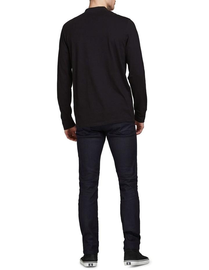 Tim Slim Straight  Fit Jeans Black image 2