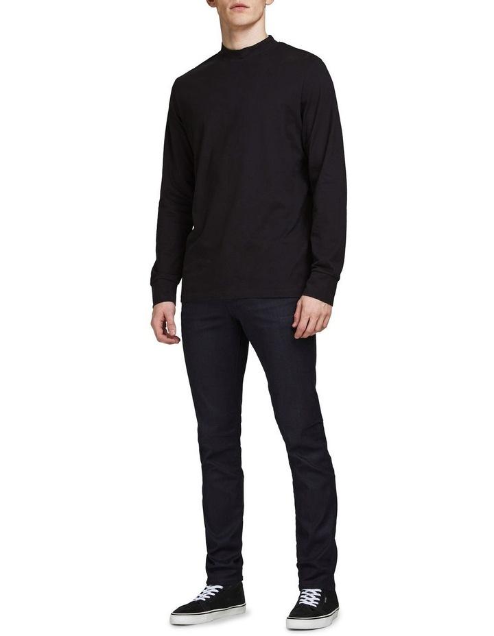 Tim Slim Straight  Fit Jeans Black image 3