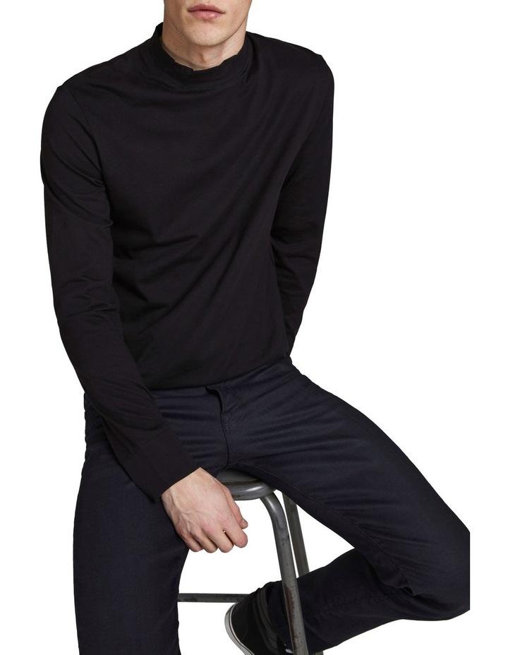 Tim Slim Straight  Fit Jeans Black image 4