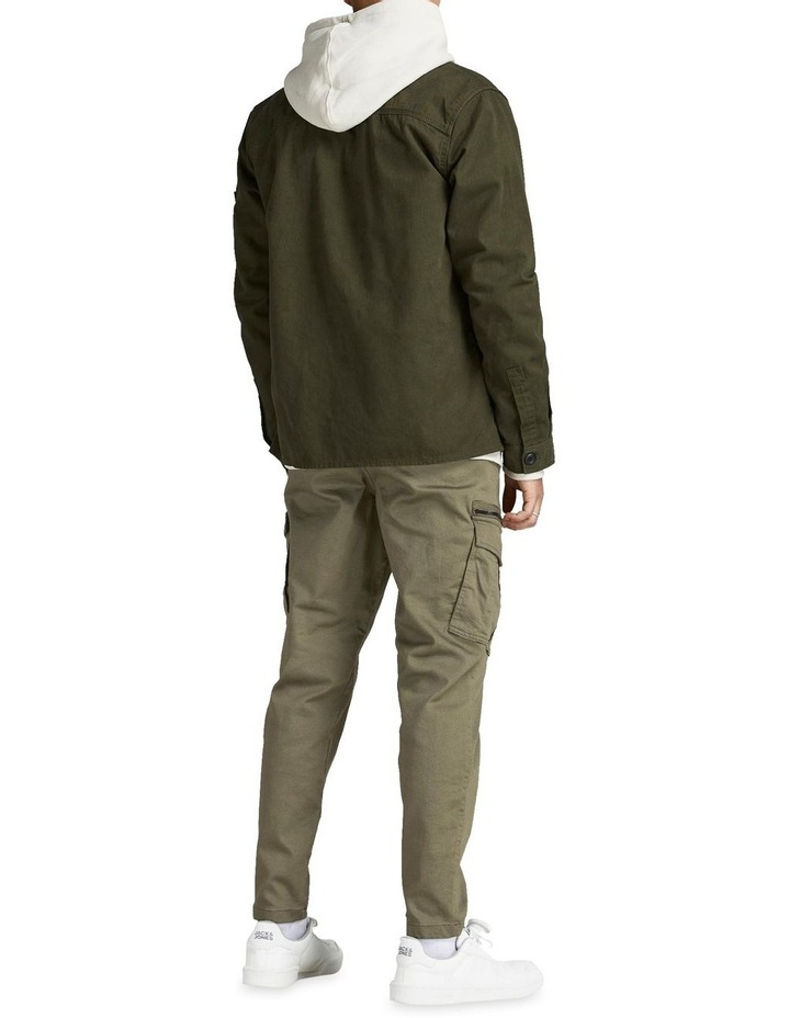Ace Dex Tapered Cargo Pants Dusty Olive image 2
