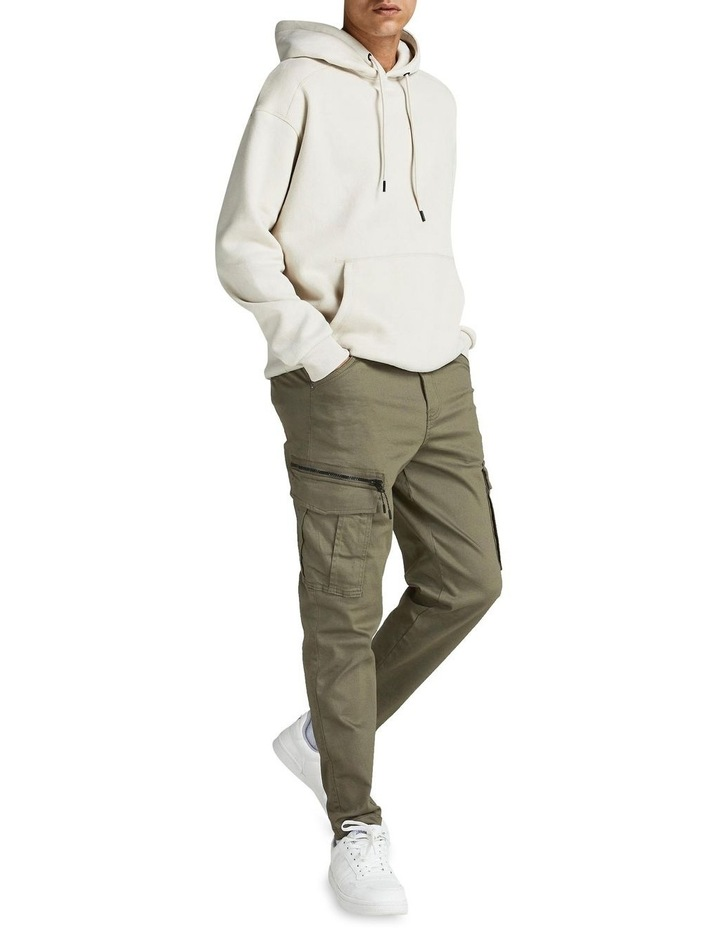 Ace Dex Tapered Cargo Pants Dusty Olive image 4
