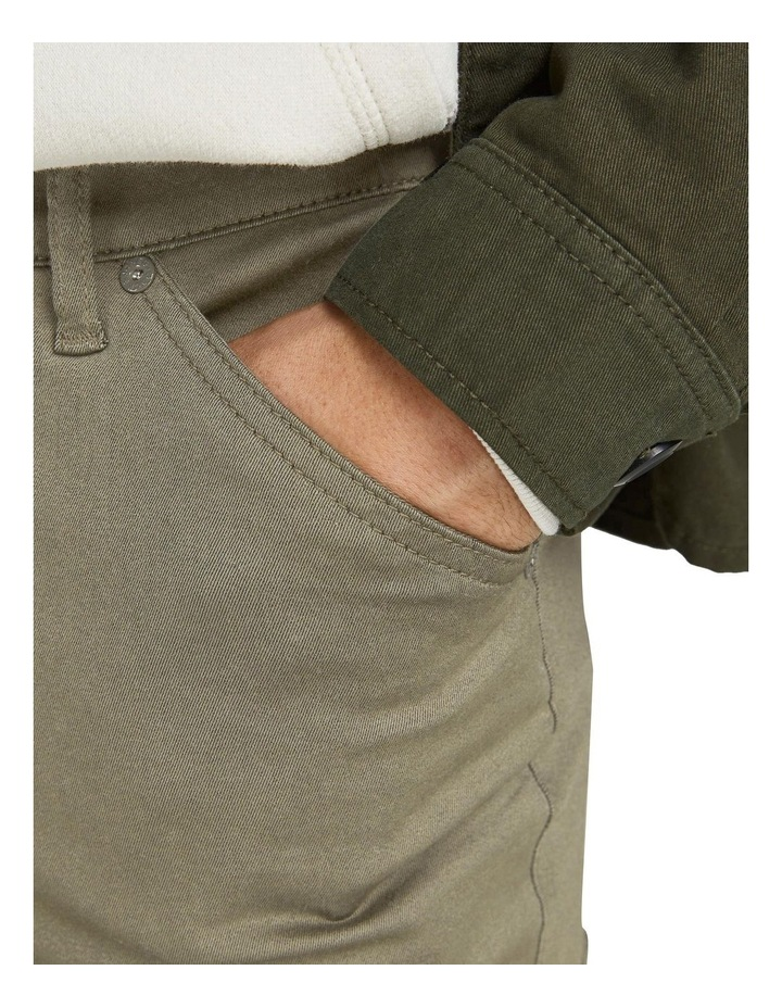 Ace Dex Tapered Cargo Pants Dusty Olive image 5