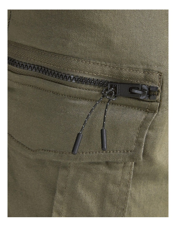 Ace Dex Tapered Cargo Pants Dusty Olive image 6