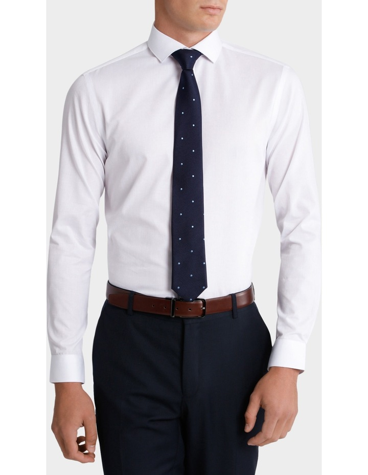Ajax Self Stripe Business Shirt image 1
