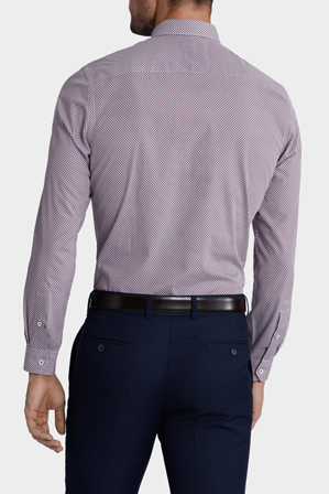 Blaq - 'Chase' Print Business Shirt