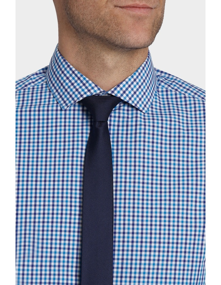 Tailored Fit Gingham Business Shirt image 7