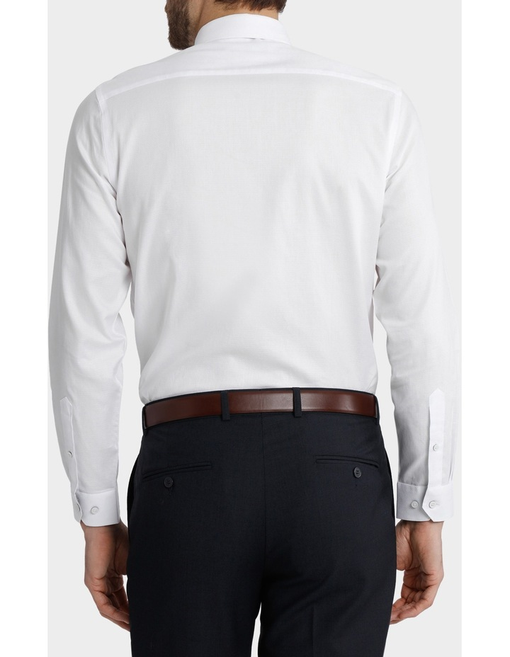 Blaq Tailored Fit White Damod Texture image 5
