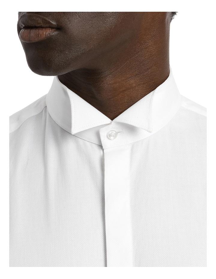 Slim Wing Collared Dress Shirt image 4