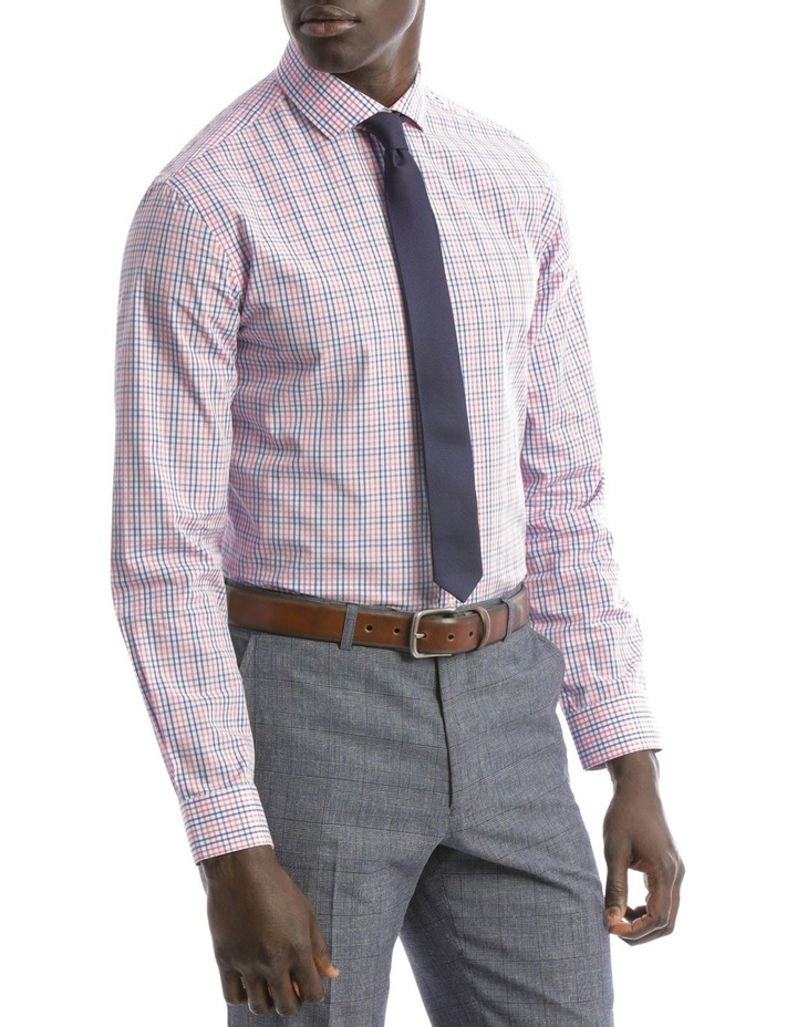 Tailored Fit Pink And Blue Multi Check image 2