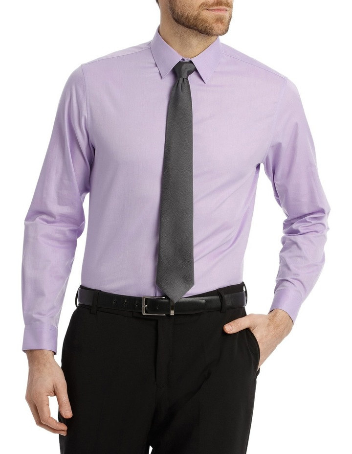 Tailored Fit Lilac Twill image 1