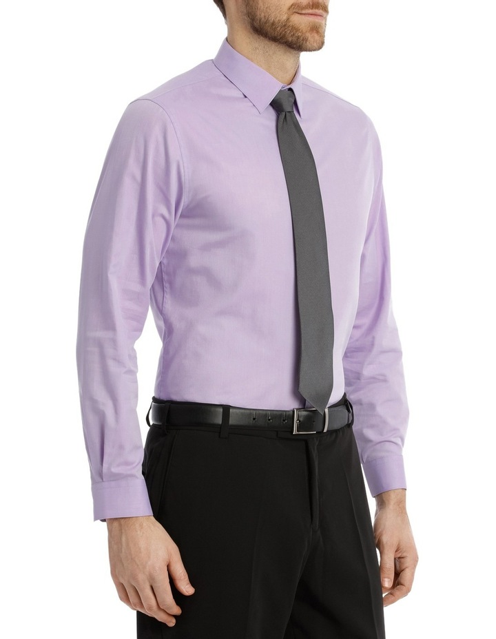 Tailored Fit Lilac Twill image 3