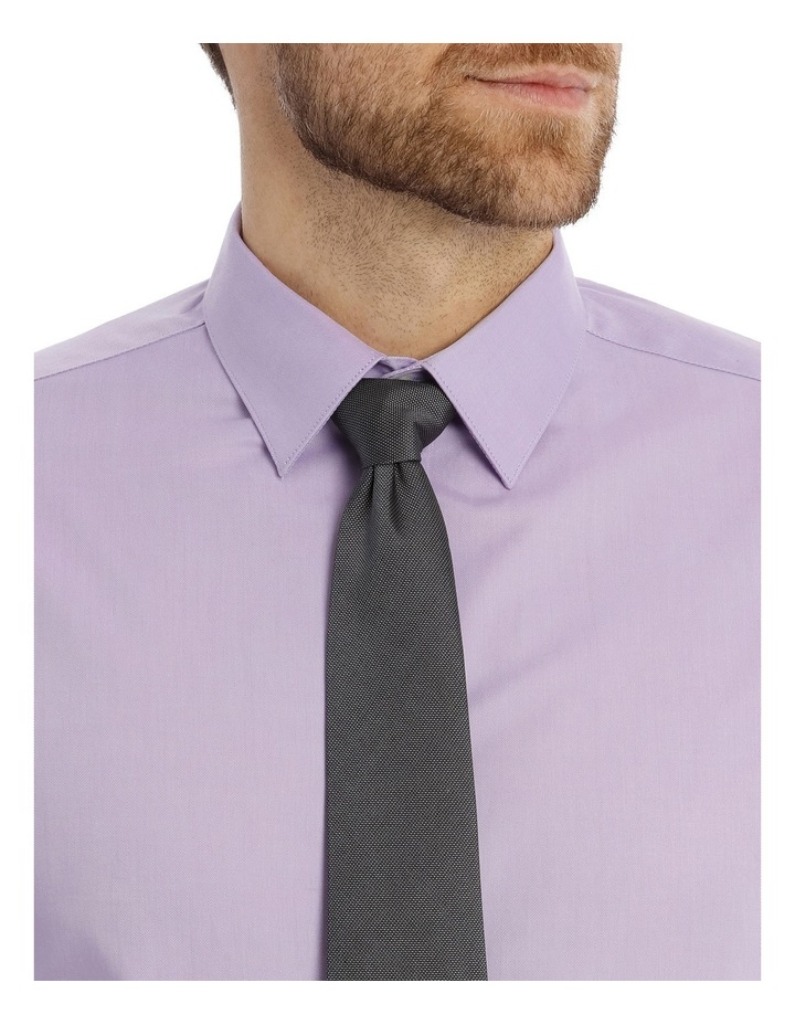 Tailored Fit Lilac Twill image 7