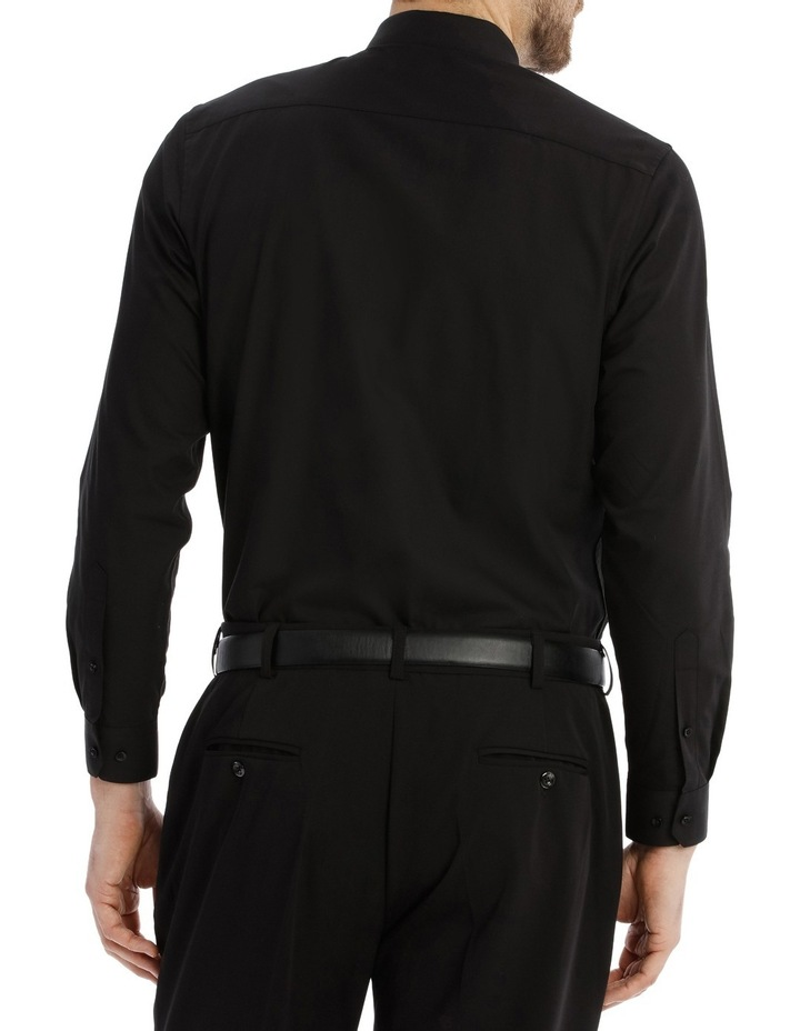 Tailored Fit Black Twill image 5