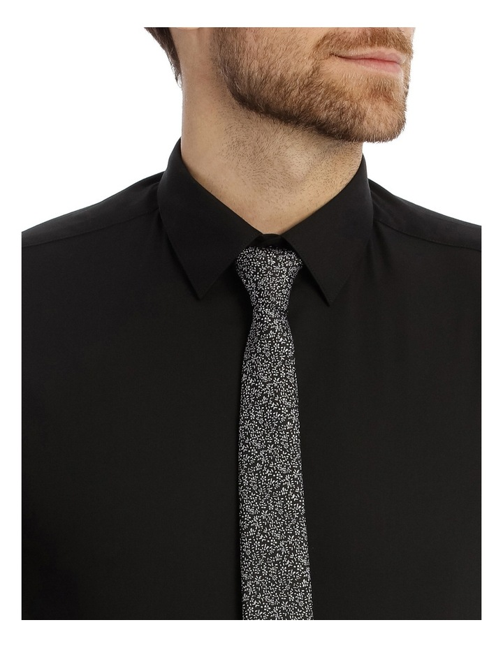 Tailored Fit Black Twill image 7