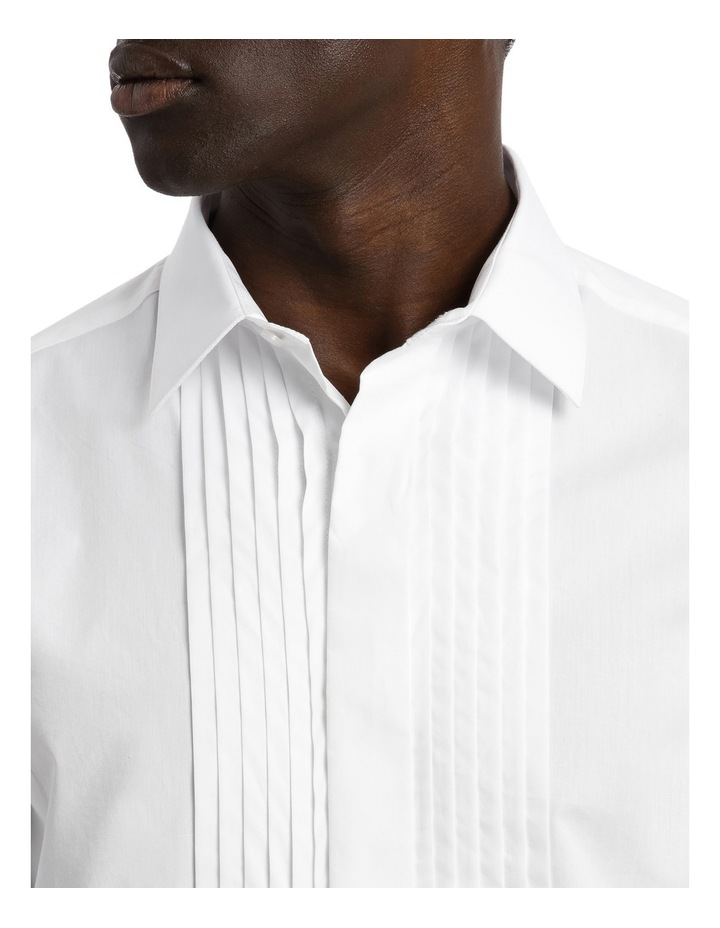 Tailored Fit Pleat Front Dress Shirt image 7