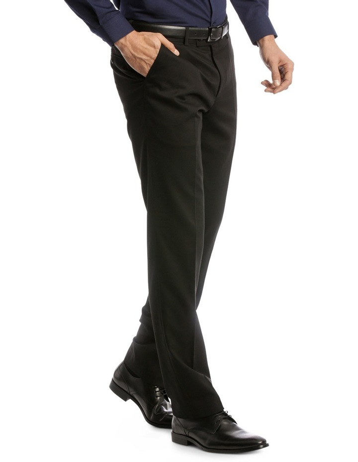 Tailored Fit Trouser Black Plain image 2