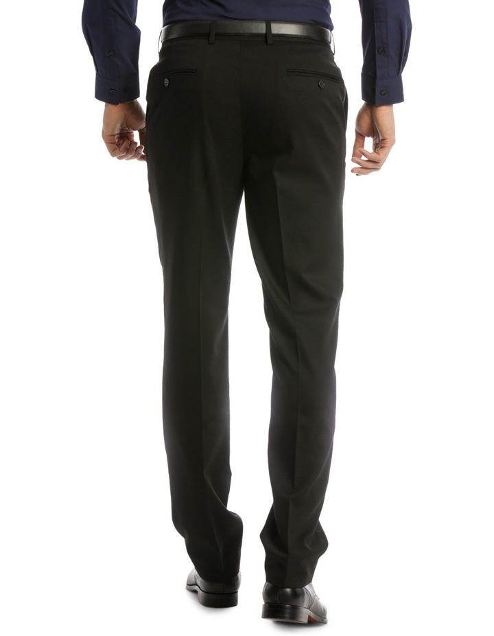 Tailored Fit Trouser Black Plain image 3