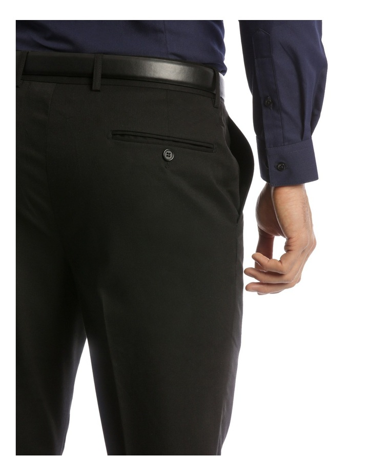 Tailored Fit Trouser Black Plain image 4