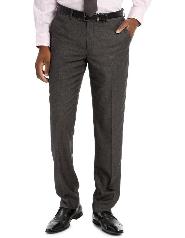 Tailored Fit Dark Grey Sharkskin image 1