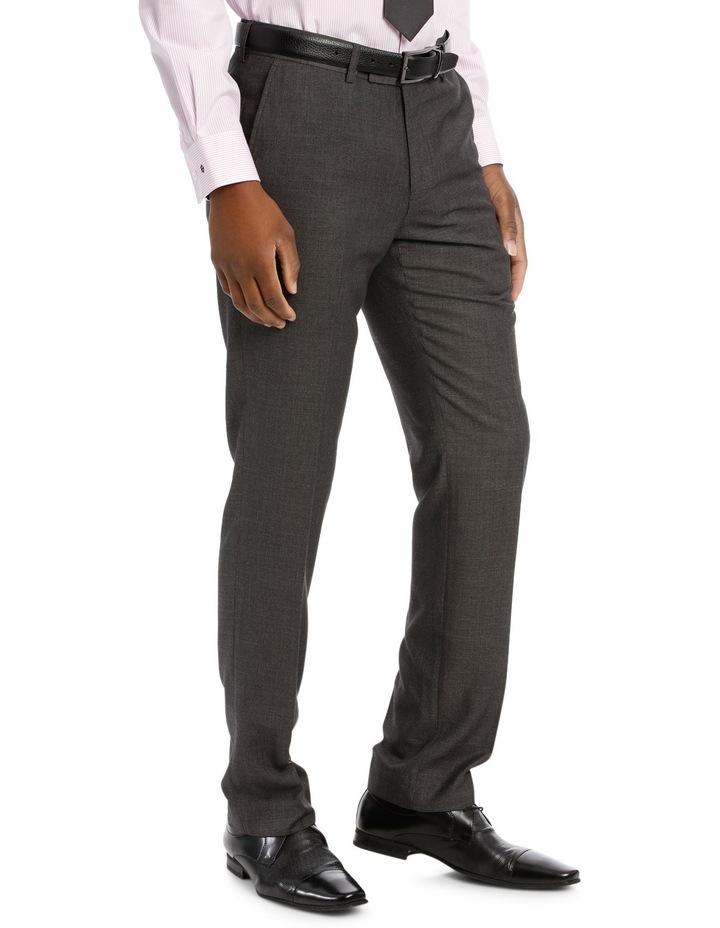 Tailored Fit Dark Grey Sharkskin image 2