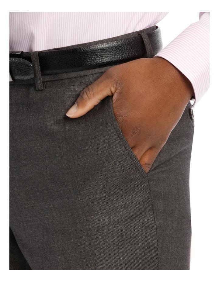 Tailored Fit Dark Grey Sharkskin image 4