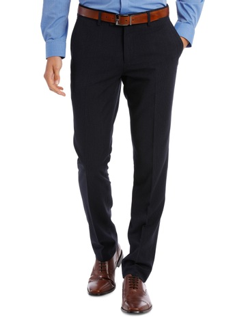 1a010e3ef82 Blaq SlimFit Trouser Navy Mini Check BFTSS19101. Blaq Slim Fit Trouser Navy  Mini Check BFTSS19101