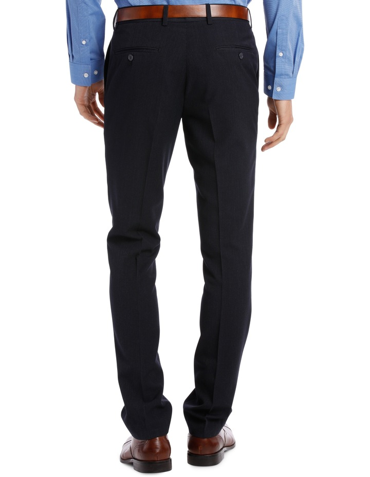 Fit Trouser Navy Mini Check BFTSS19101 image 3