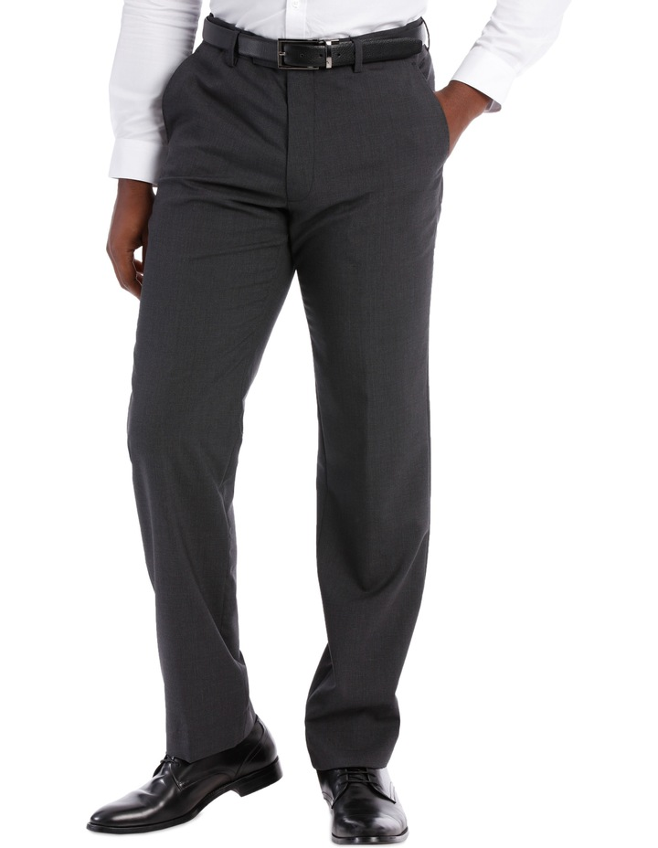 Mini Grid Check Wool Trouser Tn196-41 image 1