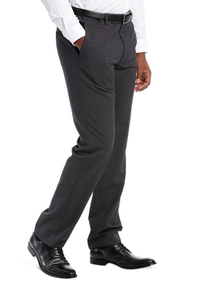 Mini Grid Check Wool Trouser Tn196-41 image 3