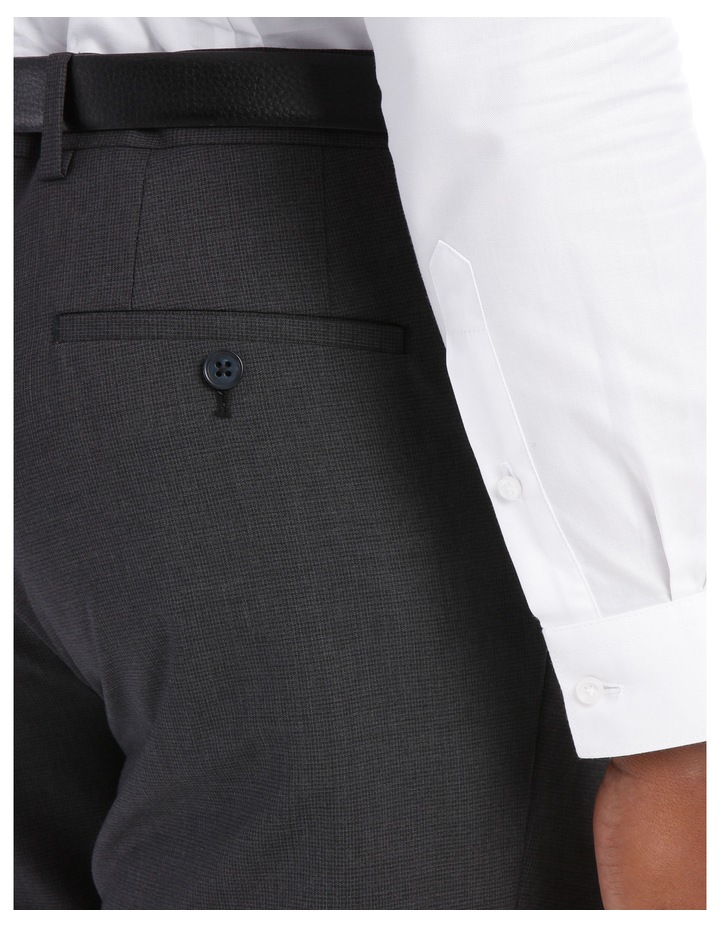 Mini Grid Check Wool Trouser Tn196-41 image 7