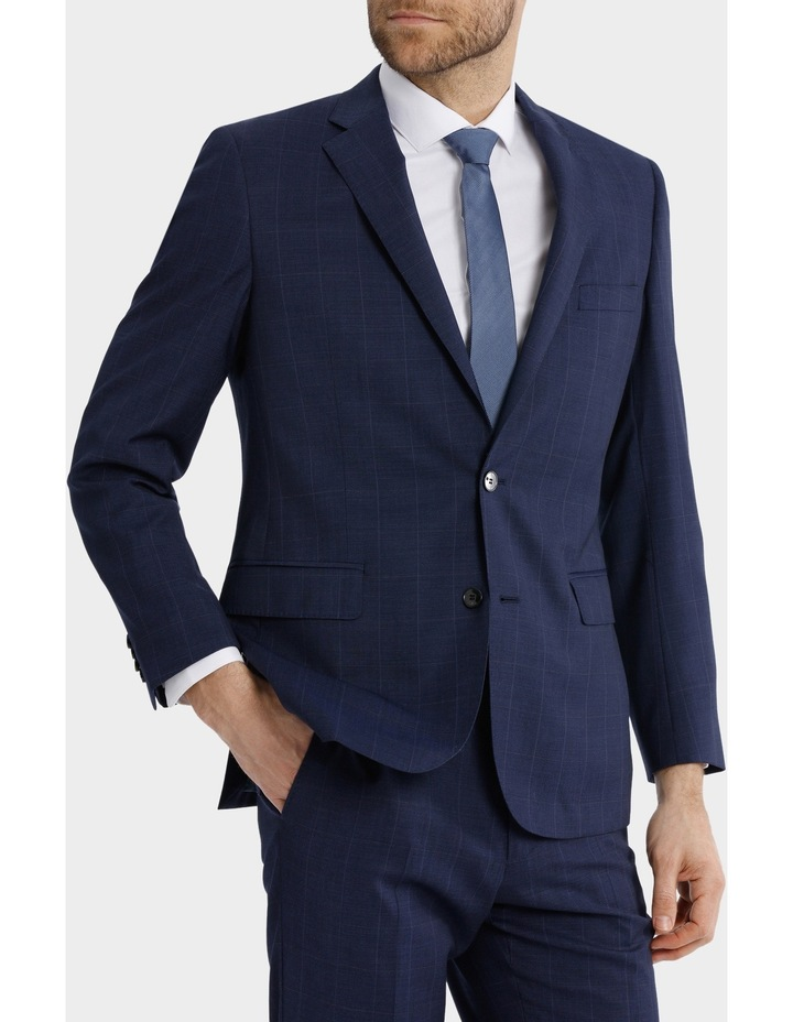 Classic Fit Windowpane Suit Jacket image 1