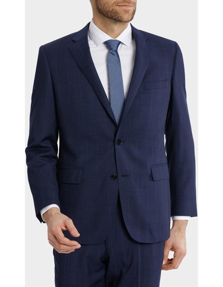 Classic Fit Windowpane Suit Jacket image 2