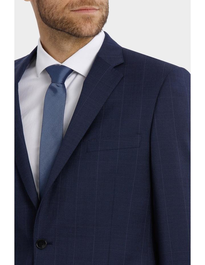 Classic Fit Windowpane Suit Jacket image 4