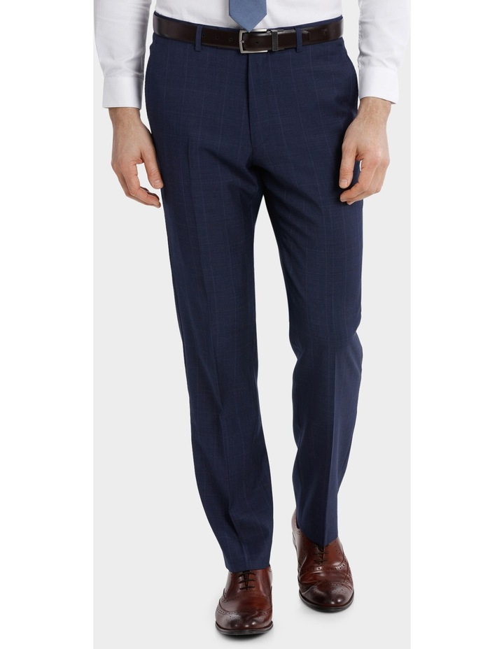Classic Fit Windowpane Suit Trouser image 1