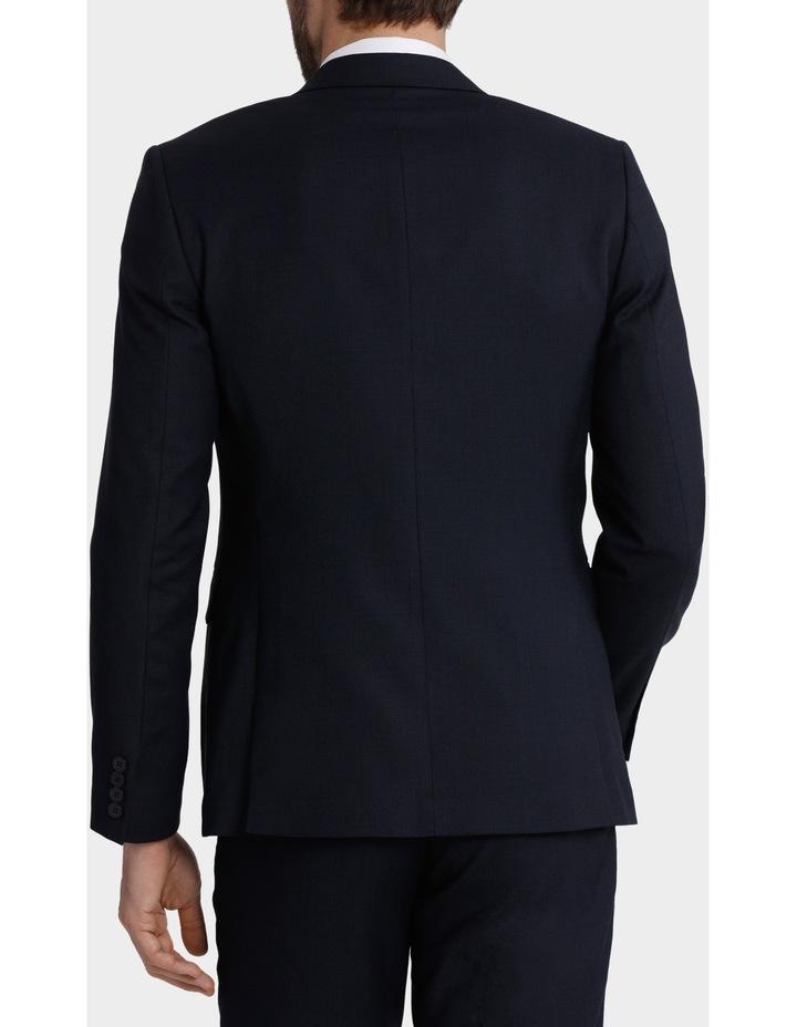 Tailored Fit Birdseye Suit Jacket image 3