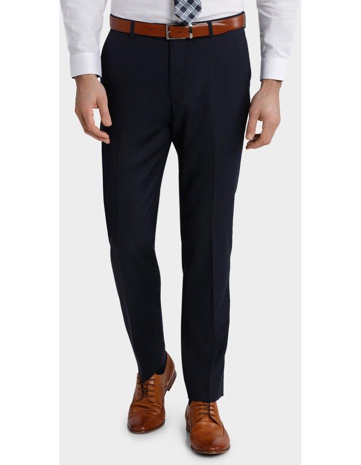 Tailored Fit Birdseye Suit Trouser image 1