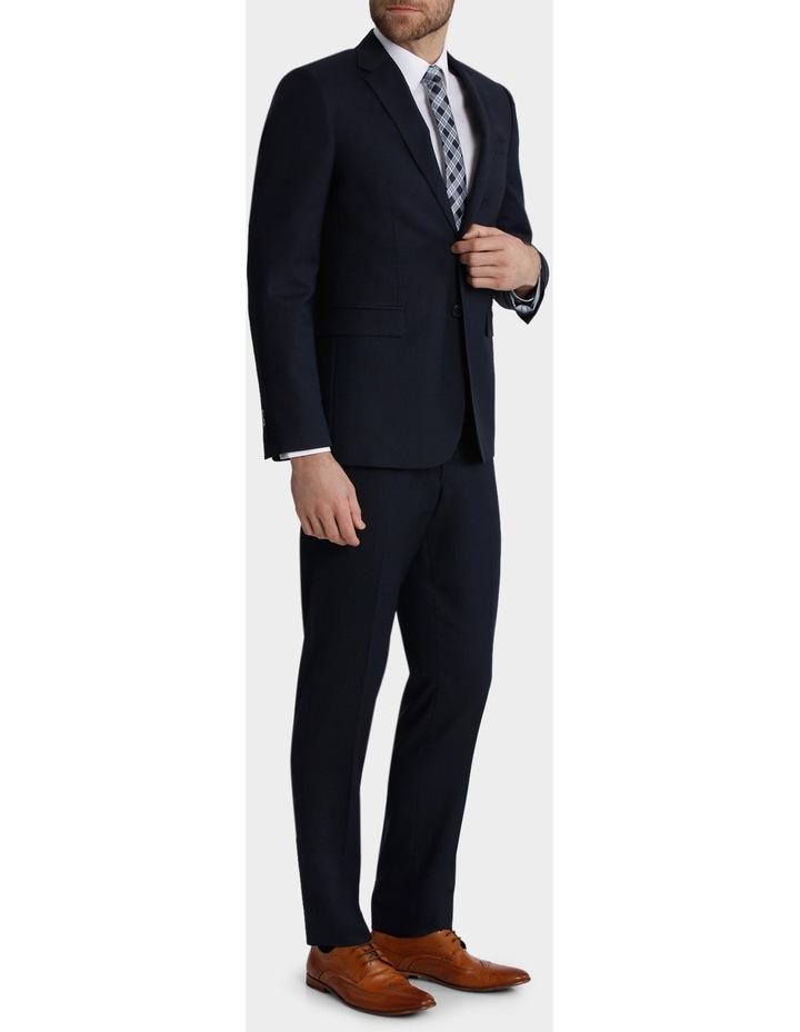 Tailored Fit Birdseye Suit Trouser image 2