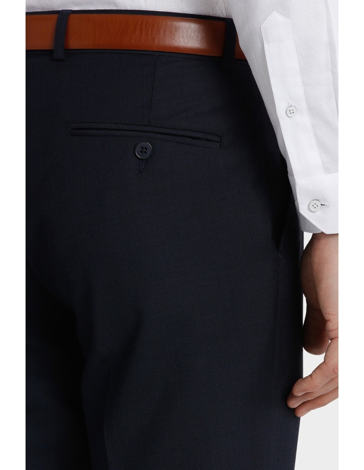 Tailored Fit Birdseye Suit Trouser image 4