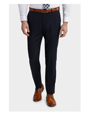 Tailored Fit Birdseye Suit Trouser