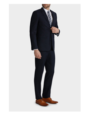 Blaq - Tailored Fit Birdseye Suit Trouser