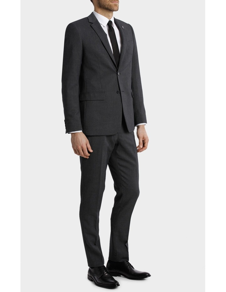 Tailored Birdseye Suit Jacket image 3