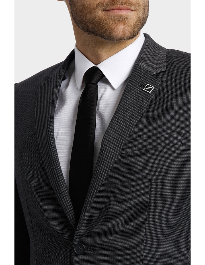 Tailored Birdseye Suit Jacket image 7