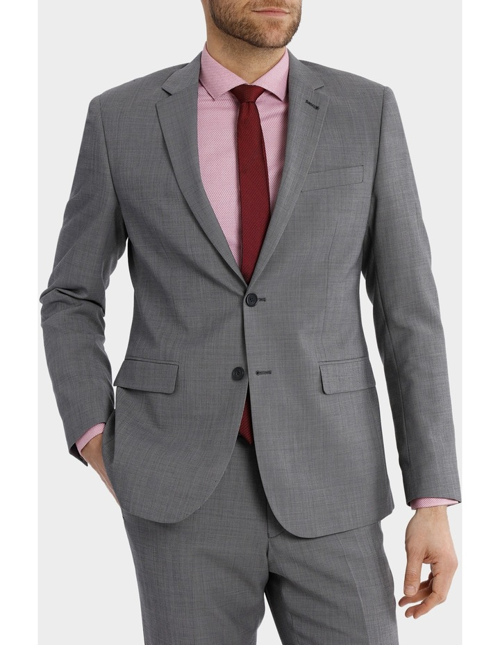 Tailored Sharkskin Suit Jacket image 1