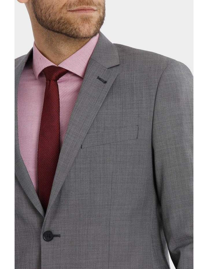 Tailored Sharkskin Suit Jacket image 4