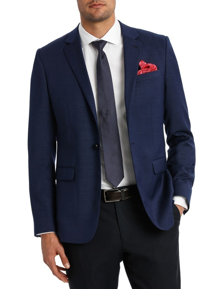 Tailored Textured Suit Jacket image 1